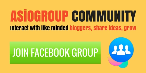JOIN ASiOGROUP COMMUNITY